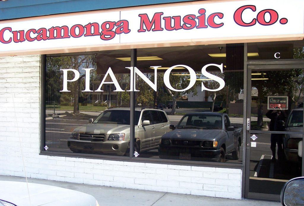 Piano Rebuilding in Upland, CA